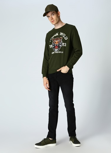 T-Box Sweatshirt Haki